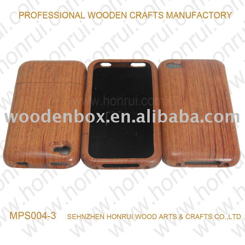 wooden case for iphone 4/wood case