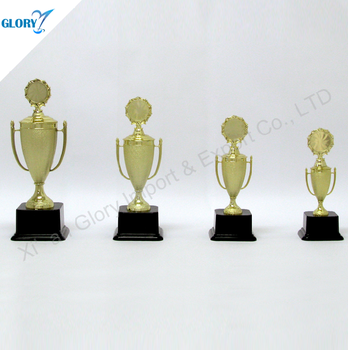 Wholesale Gold High Quality New Design Plastic Trophy Cup For Sport
