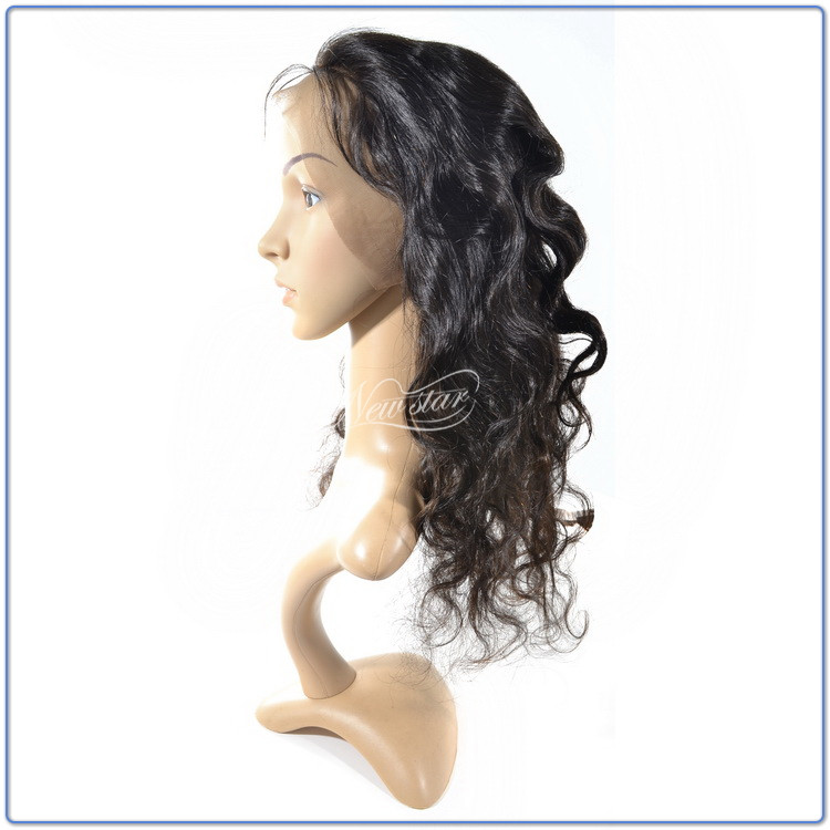 New Star Hair New Arrival 360 Lace Frontal Body Wave 100% BrazilianVirgin Hair Closure