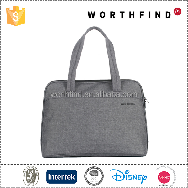 Small MOQ customized laptop carrying case with BSCI factory audit