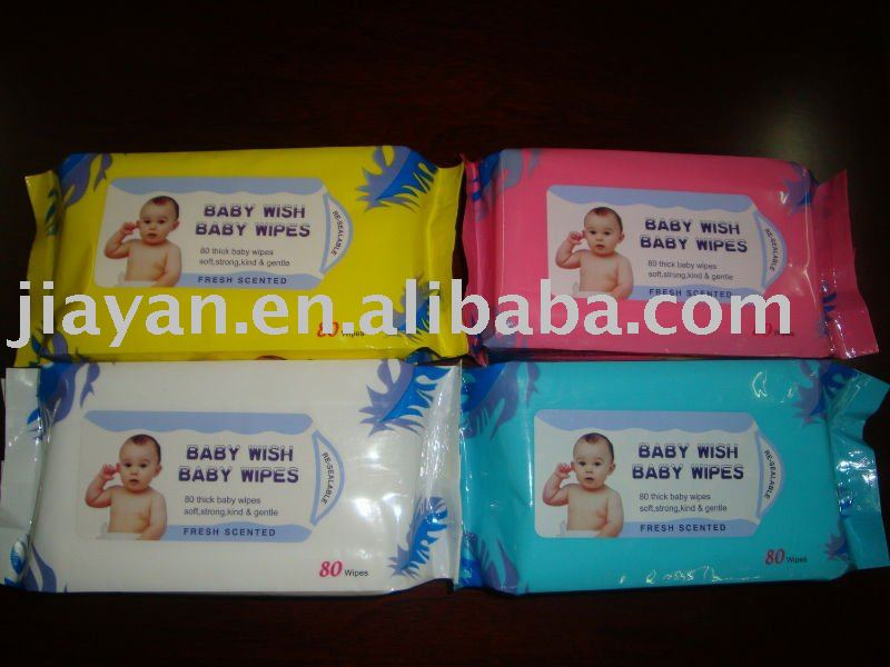 angel 4 sets baby cleaning tissue wet wipes