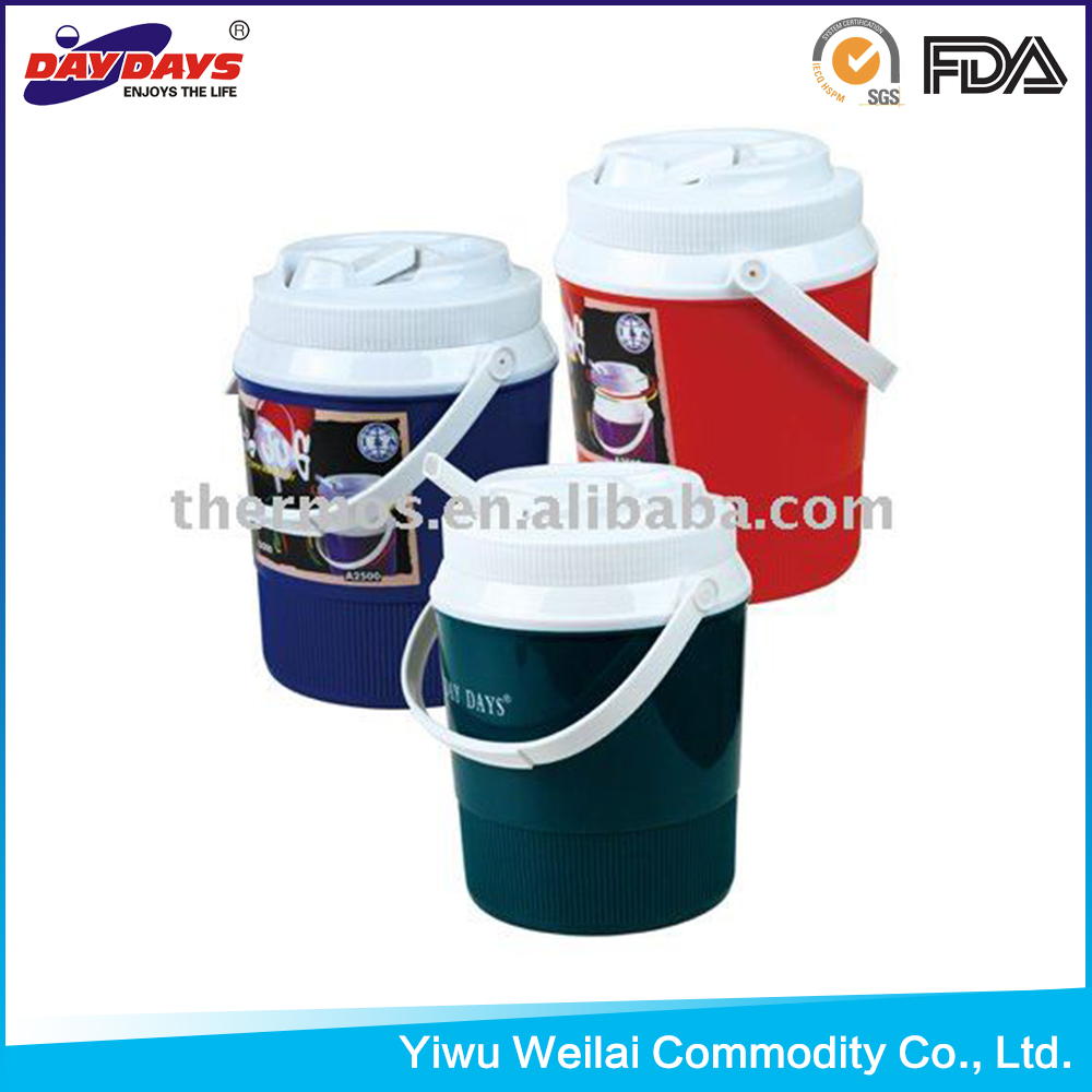 Plastic water jug with handle
