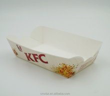 Custom design disposable food packaging kfc paper box