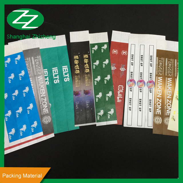 Free Samples Avaiable PP Synthetic Paper For Wristband Material