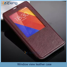 2017 wholesale New arrival display window view leather flip cover case for magic