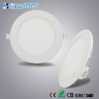 D105 6w led panel light zhong shan lighting hot sale round led panel with CE&EMC led panel light