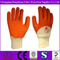 skillful crinkle finish latex gloves manufacturers