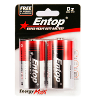 17 Years OEM or ODM Manufacturer Eco-Frindly and Durable Dry Cell 1.5v d batteries