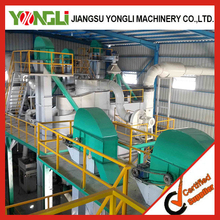 long service time complete floating sinking fish feed production line plant made by YONGLI