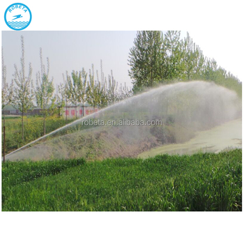 China farm automatic travelling irrigation gun/agricultural sprinkler irrigation system / whatsapp: 0086-15803993420