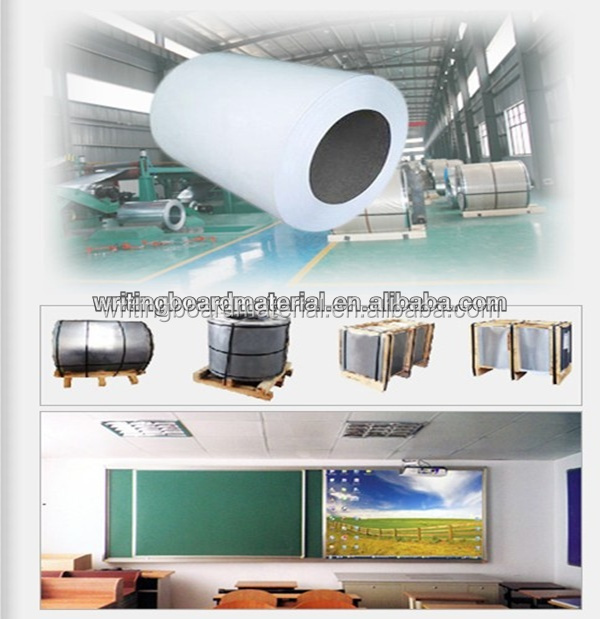 jiangyin enamel coated steel sheet whiteboard roll whiteboard steel with grid line
