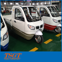 most popular in17 electric cargoes truck with three wheelers for electric tricycle with cabin