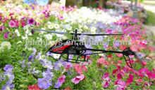 The biggest and most professional single-blade FX052 2.4G 4CH remote control helicopter( gyro screen)
