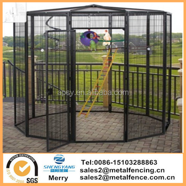 Eight Foot Suncatcher Diameter Garden Bird Aviary cage