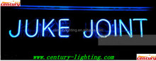 indoor advertise juke joint neon sign