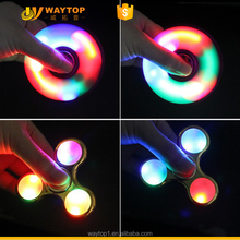 New high quality light spinner led fidget spinner toy for low price
