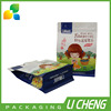 Manufacturer wholesale colorful printing flat bottom food packaging bag