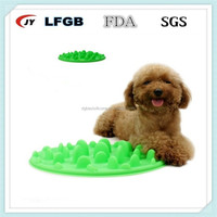 High quality new silicone slow down eating pet bowl