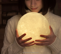 3d Moon Lamp 3D Led Lamp