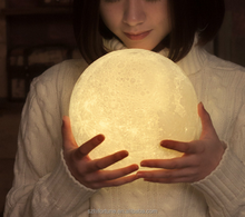 3d moon lamp, 3D led lamp, 3d lamp