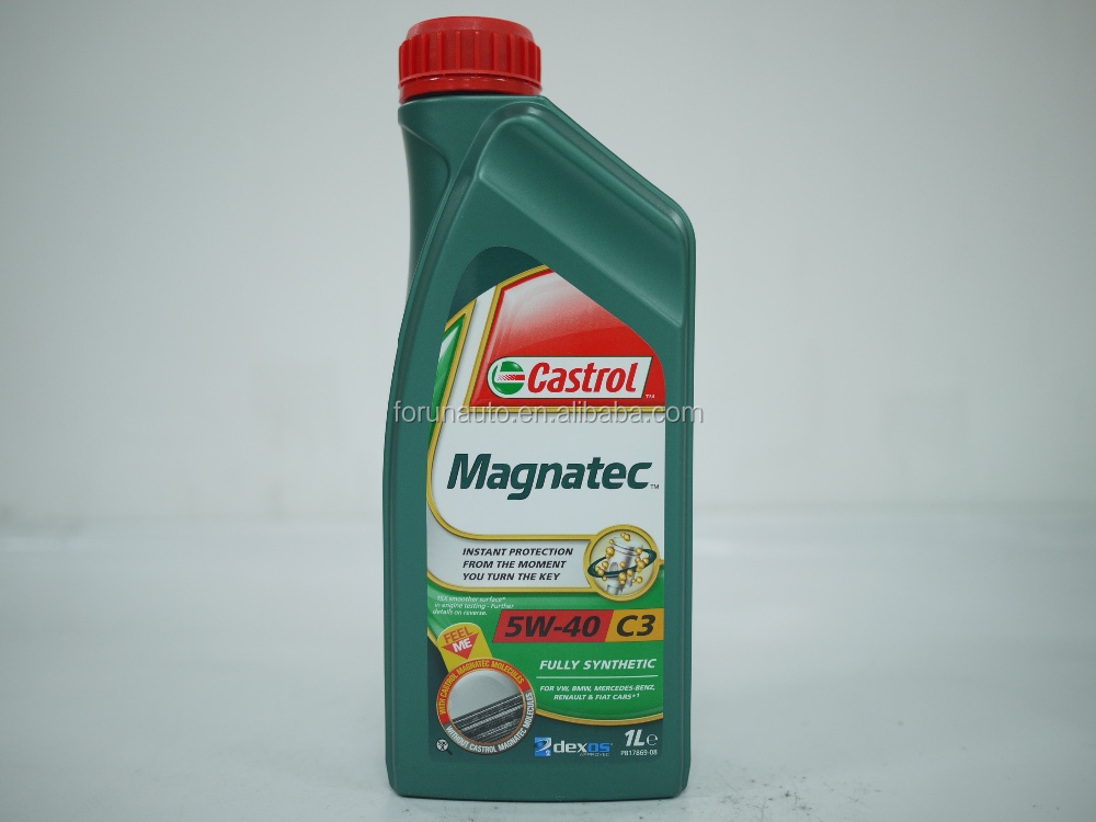 Castrol Magnatec 5W40 fully synthetic engine oil