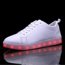 USA online business hot product OEM casual shoe with led light