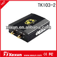 Xexun rastrear gps para carros TK103-2 with car gps tracker engine cut off car monitor