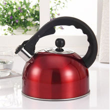 3L Stainless Steel Whistling Water Tea Pot Kettle with Heat Assistant Handle