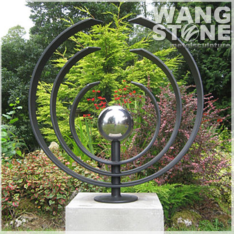 Stainless Steel Ornament Contemporary Outdoor Sculptures