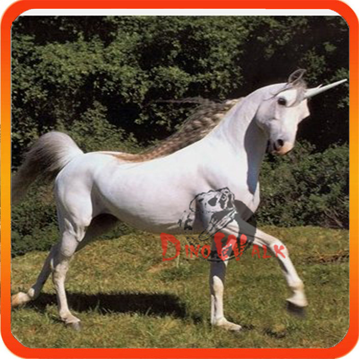 Dino0094 4 meters long animatronic realistic robot emulation animal unicorn