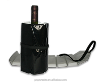 Wine bottle gel cooler bags