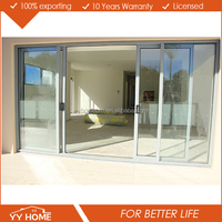 Australia AS2047 standard double glass thermal break japanese style door from yy factory