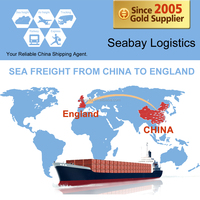 Ocean / sea freight shipping to manchester