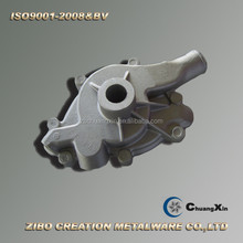 aluminum gravity cast/cast aluminum pump cover/china manufacture outdoor water pump cover