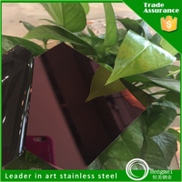 201 Nickel Color Mirror Polish Stainless Steel Sheet for Metro Chairs