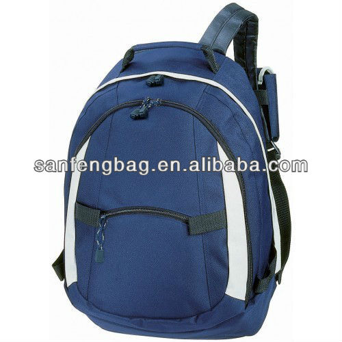 Navy Backpack Rucksack Holiday School Travel Outing Hiking Bag Shoulder Carrier