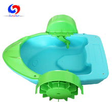 inflatable swimming pool hand wheel kids paddle boat for sale, paddel boats with inflatable pond