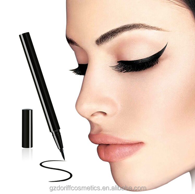 2016 new brand name black eyeliner cosmetics manufacture