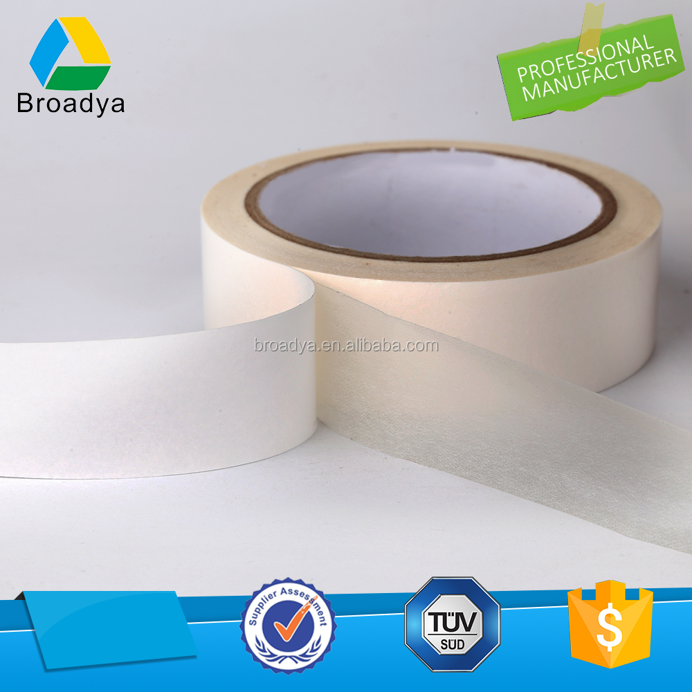 best quality self adhesive roller cleaning tape double side paper tissue tape 12mm x 50m wholesale