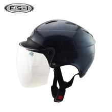 Half face motorbike helmet women motorcycle accessories pro scooter helmet DOT
