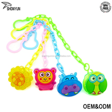 Newest Baby Nipple Clip Holder BPA Free Food Grade PP Health Baby Pacifier Chain Clip