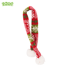 "17 "" Home decoration red and green scarf hanging Christmas ornaments indoor decorations wholesale Christmas ornament suppliers"