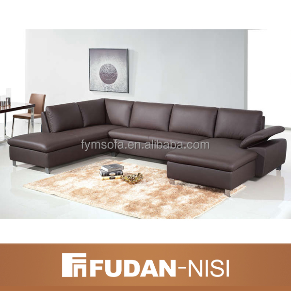 corner sofa set designs FM-113 Julie, l shaped leather sofa