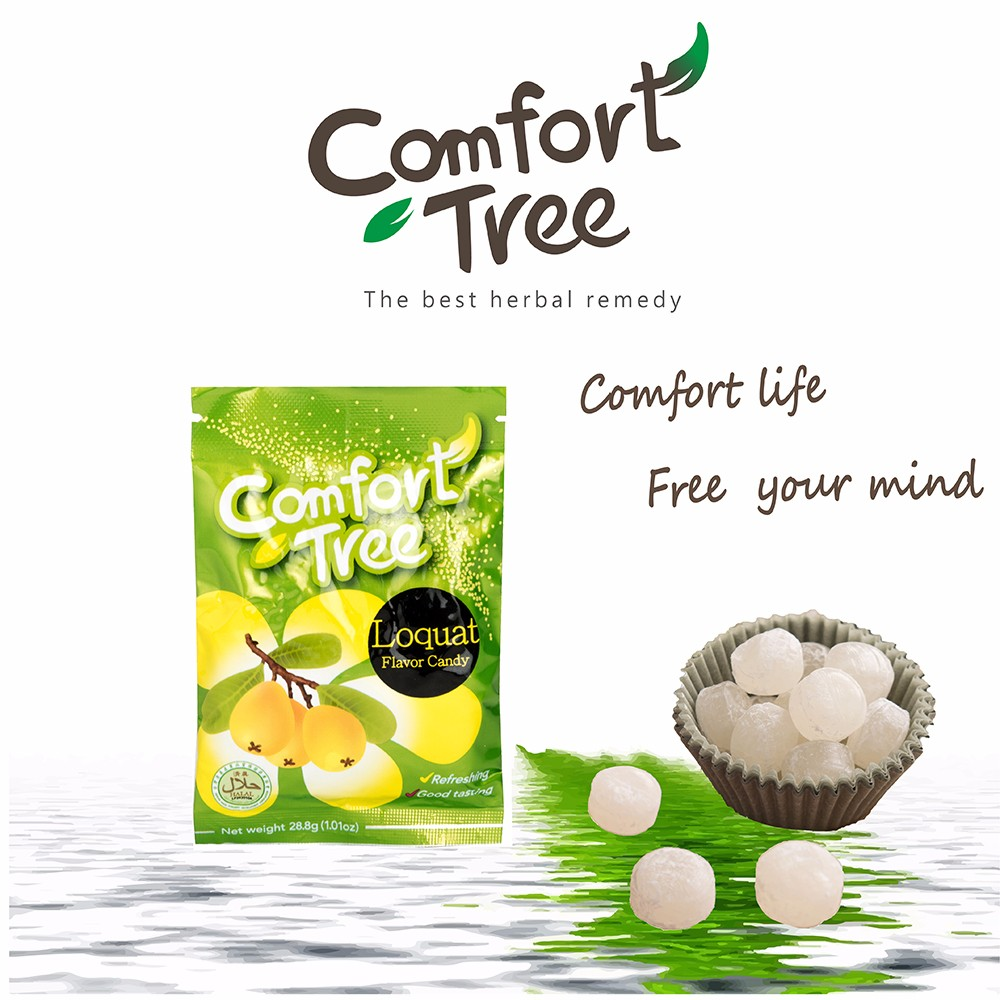 Herbal candy Loquat flavor sore throat candy
