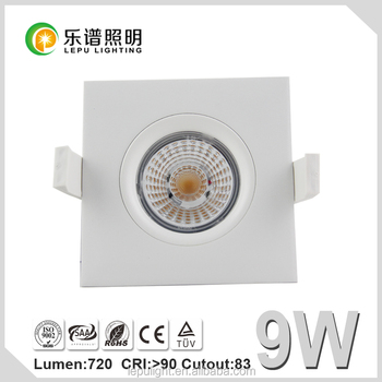 Sverige GYRO Dim 2 Warm 1800-2700k Led Downlight Nemko IP44 95Ra
