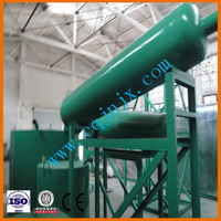 No pollution Car/truck motor oil re-refining into diesel oil ! China JNC waste oil recycling equipment