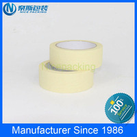 Painting Use Purpose Nice Adhesion rice paper masking tape with China factory price
