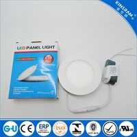 China factory lay-in 6W panel ceiling light SMD led light