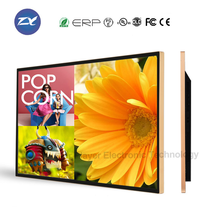 49 inch 50 inch Wifi LCD/LED TV player led advertising digital display board