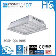 Gas station light ip66 high explosion proof led canopy lights with 0-10v diammable